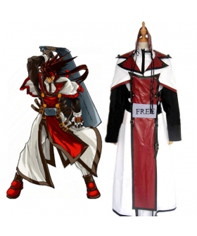 Guilty Gear Order Sol Cosplay Costume