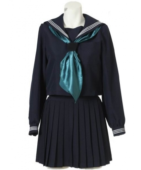 Long Sleeves Sailor Uniform Cosplay Costume