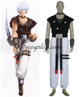 Guilty Gear Chipp Zanuff Cosplay Costume
