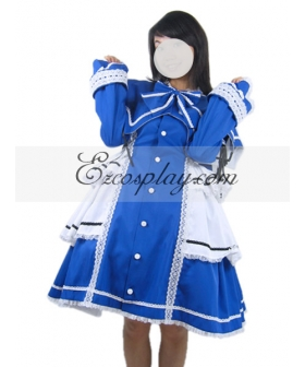 Rozen Maiden Lolita Blue Cosplay Costume