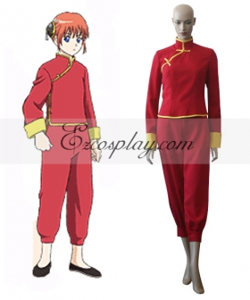 Gintama Kagura Halloween Cosplay Costume