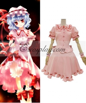 Touhou Project Vampire Remilia Scarlet Cosplay Costume