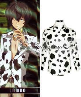 Katekyo Hitman Reborn! Lambo Shirt Cosplay Costume