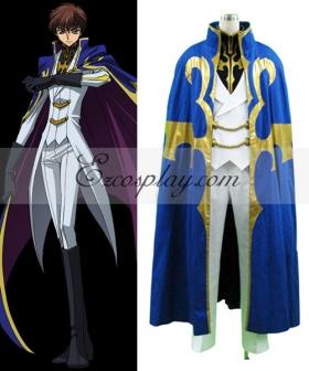 Code Geass Kururugi Suzaku Knight Suit Cosplay Costume