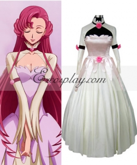 Code Geass Euphemia Princess Dress Cosplay Costume