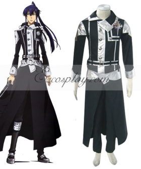 D.Gray-man Yuu Uniform Cosplay Costume