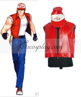 The King of Fighters' Terry Cosplay Costume , Special Price $38.99 (Regular Price $81.99)