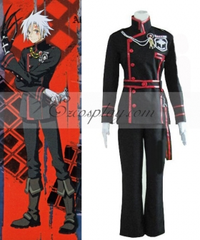D Gray-man Allen Walker 3rd Uniform Cosplay Costume