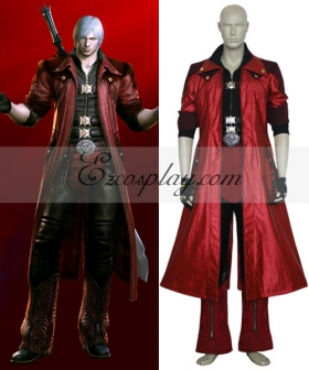 Devil May Cry 4 Dante Cosplay Costume - B Edition