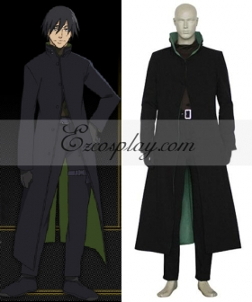 Darker Than Black Hei The Black Reaper Li Shunsheng Lee Hyunsik Cosplay Costume - Only Coat - B Edition