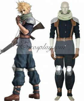 Final Fantasy VII Crisis Core Cloud Strife Cosplay Costume