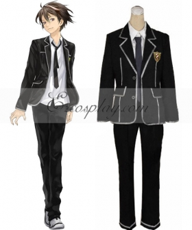 Guilty Crown Shu Ouma School Uniform Cosplay Costume