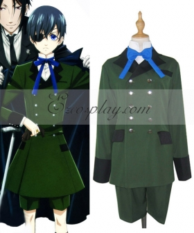 Black Butler Ciel Phantomhive Normal Cosplay Costume