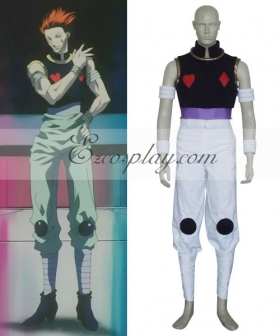 Hunter X Hunter Hisoka Cosplay Costume
