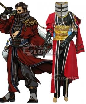 Final Fantasy FFX Auron Cosplay Costume