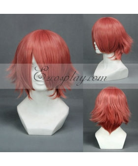 Final Fantasy Type-0 Cater Red Cosplay Wig-199E