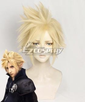 Final Fantasy VII FF7 Cloud Strife Yellow Cosplay Wig