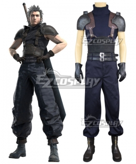 Final Fantasy VII Remake Zack Fair Crisis Core Cloud Strife Cosplay Costume