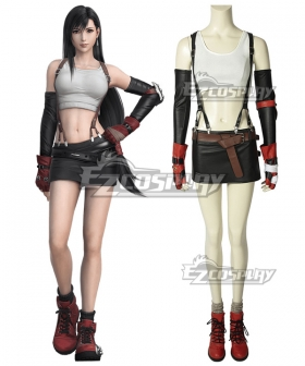 Final Fantasy VII Tifa Lockhart Cosplay Costume - A Edition