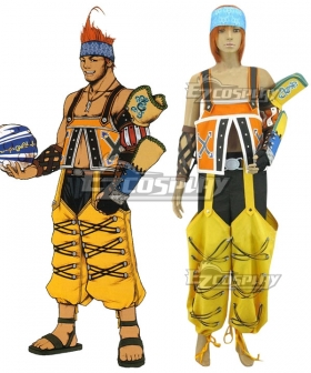Final Fantasy X FF10 Wakka Cosplay Costume