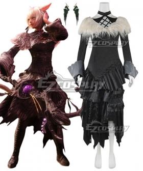 Final Fantasy XIV Shadowbringers 5.0 FF14 Y'shtola Rhul Yshtola Rhul Cosplay Costume