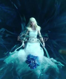 Final Fantasy XV Lunafreya Nox Fleuret CG Cosplay Costume
