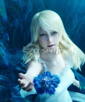 Final Fantasy XV Lunafreya Nox Fleuret CG Golden Cosplay Wig