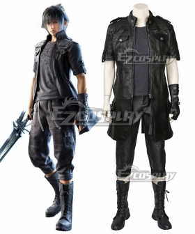 Final Fantasy XV Noctis Lucis Caelum Cosplay Costume - Including Boots