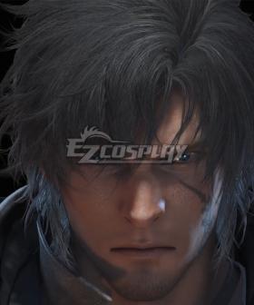 Final Fantasy XVI FF16 Archduke Time Skip Black Cosplay Wig