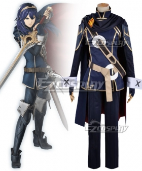 Fire Emblem Awakening Marth Lucina Uniform Cosplay Costume