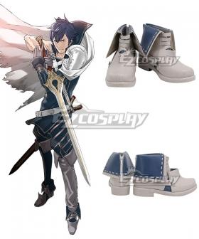 Fire Emblem Chrom Blue Cosplay Shoes