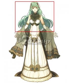 Fire Emblem Echoes: Shadows of Valentia Tatiana Green Cosplay Wig