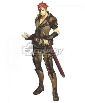 Fire Emblem Echoes: Shadows of Valentia Saber Cosplay Costume