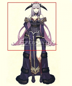 Fire Emblem Echoes: Shadows of Valentia Shade Purple Cosplay Wig