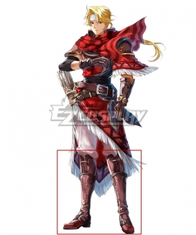 Fire Emblem Heroes Perfect Shot Jeorge Brown Shoes Cosplay Boots