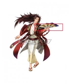 Fire Emblem Heroes Ryoma Dancing Samurai Cosplay Weapon Prop