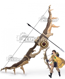 Fire Emblem: Three Houses 5 Years Claude Von Regan Bow Arrow Cosplay Weapon Prop