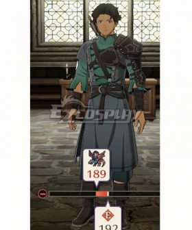 Fire Emblem Three Houses 5 Years Cyril Cosplay Costume