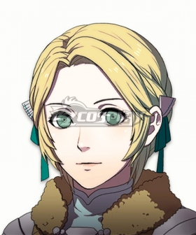 Fire Emblem: Three Houses 5 Years Ingrid Golden Cosplay Wig