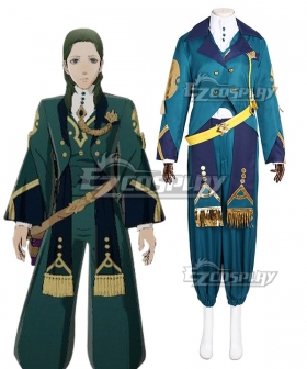 Fire Emblem: Three Houses 5 Years Linhardt Cosplay Costume