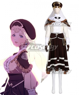 Fire Emblem: Three Houses 5 Years Mercedes Timeskip Cosplay Costume