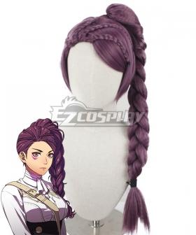 Fire Emblem: Three Houses Petra Purple Cosplay Wig