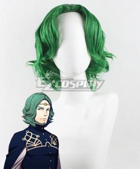 Fire Emblem Three Houses Seteth Green Cosplay Wig