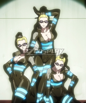Fire Force Enen No Shouboutai 3 Angels of the 5th Cosplay Costume