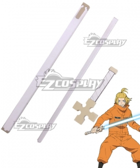 Fire Force Enen No Shouboutai Arthur Boyle Sword Cosplay Weapon Prop - B Edition