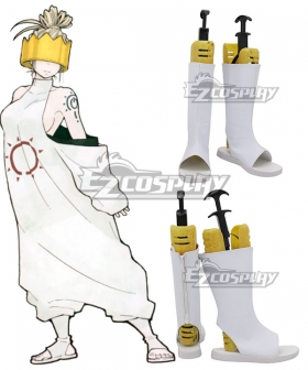 Fire Force Enen No Shouboutai Haumea  White Cosplay Shoes
