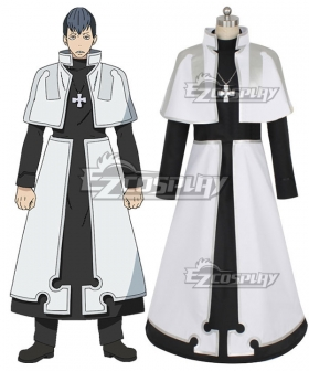Fire Force Enen no Shouboutai Karim Fulham Rekka Hoshimiya Foien Li Cosplay Costume