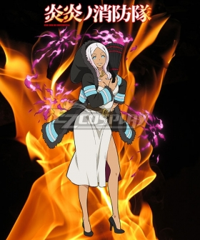 Fire Force Enen no Shouboutai Princess Hibana Cosplay Costume