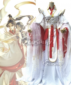 Tian Guan Ci Fu Heaven Official's Blessing  Xianle Crown Prince Flower Crown Martial God Xie Lian Cosplay Costume