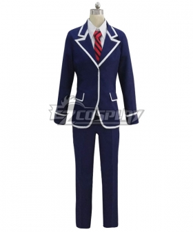 Food Wars Shokugeki no Soma Ni no Sara 90th Tōtsuki Generation Eishi Tsukasa Cosplay Costume